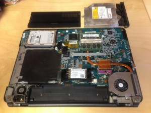 sony vaio laptop cleaning repairing